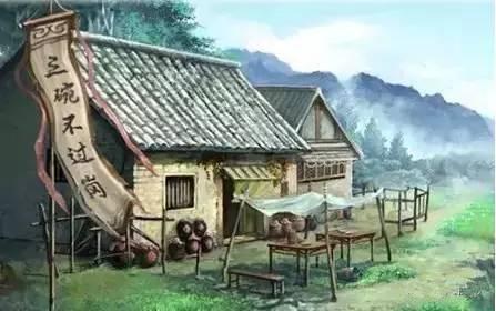 动态古代风景图图